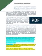 BORRADOR DEL ANALISIS DE PERSONALIDAD