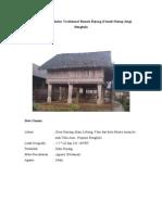 Arsitektur Vernakular Tradisional Rumah Rejang