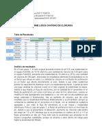 Informe Lab Cloruros