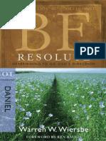 Danie, Be Resolute Warren W..pdf