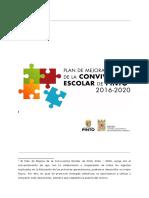 Plan de mejora de convivencia escolar 2016-2020