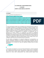 PARCIAL ASIGNATURA VISIÓN INTERNACIONAL  II COHORTE