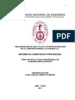 RECUPERACION DE ORO Y PLATA A PARTIR DE RELAVES.pdf