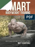 Smart Bodyweight Training_ How - Schifferle, Matt