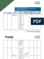 Cronograma de Actividades gestion y administracion estrategica