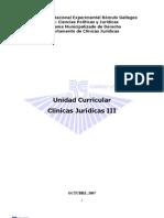 Clínicas Jurídicas III