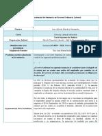 Análisis Jurisprudencial de Sentencia en Proceso Ordinario Laboral