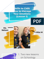 skills to chill all ppts