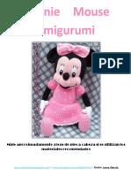 Minnie Mouse Amigurumi Tejidos Thina (2)