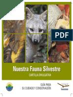 Cartilla Nuestra Fauna Silvestre, Guía para su Cuidadado