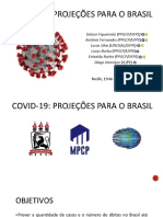 COVID-19 Projeções para o Brasil (Dalson et al. 2020)