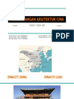 PowerPoint Perkembagan Arsitektur China 1000-1200