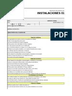Lista de Chequeo ELECTRICOS