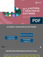 4.1.3.Autoria y creacion de Software