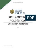 Reglamentos Académicos Revisado 2020
