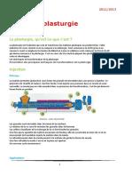 PLASTURGIE