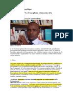La francophonie au service de la Françafrique