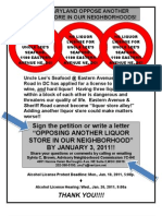 UncleLees_oppose flyer petition