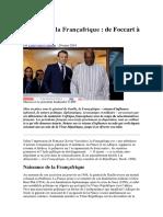 25- De Foccart à Macron