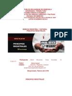 DERECHO REGISTRAL Y NOTARIAL  PRINCIPIOS   202020 REPÚBLICA BOLIVARIANA DE VENEZUELA