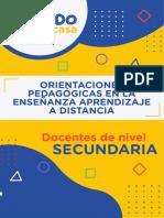 Orientaciones Pedagogicas Para La Enseñanza a Distancia Ccesa007