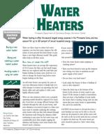 Water Heaters 110802042613 Water Heaters