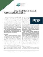 Cord Blomquist - Avoid Hampering the Internet Through Net Neutrality Regulation