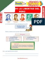 Buscando-la-Libertad-del-Perú-para-Sexto-Grado-de-Primaria