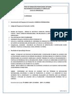 GUIA FASE IIPLANEACION COMPETENCIA 1 RAP 1COMERCIO INTERNACIONAL