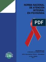 ITSVIHSIDA - Norma Atencion Integral VIH