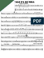 SCORE PALO PA RUMBA - Bass Trombone