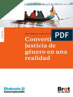 Convertir La Justicia de Genero en Una Realidad