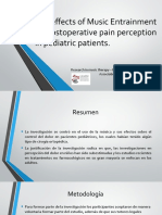 The effects of Music Entrainment on postoperative pain