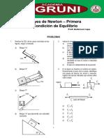 LEYES DE NEWTON Y PRIMERA CONDICION DE EQUILIBRIO.pdf
