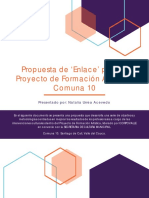 Propuesta de Enlace - P. de Formación Artística