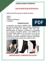 CONTABILIDAD DE DIRECCIÓN ESTRATÉGICA - Diseñar para una empresa de calzado de damas.