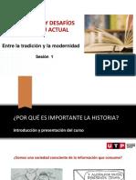 Sesión 1  PPT Presentación del cursos - Entre la tradición y la modernidad