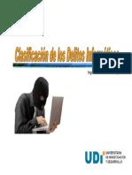 2. Clasificación de los Delitos Informáticos