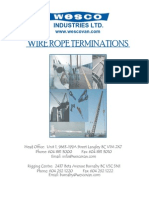 Wire Rope Terminations