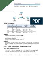 Instrucciones para la configuración del enrutamiento InterVLAN