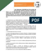 RESOLUCION 145-2020 Cobros y Delivery