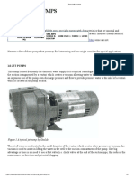 Specialty pumps