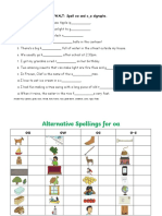 Ow and O_e Digraphs Worksheet-merged