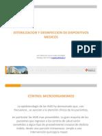 Esterilización y Desinfección de Dispositivos Medicos