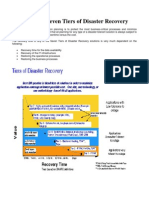 IBM Seven Tiers of Disaster Recovery
