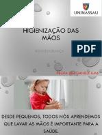 Limpeza e desinfecção das mãos.pdf