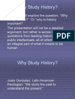 Why Study History Revised