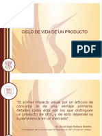 1. CICLO DE VIDA DE UN PRODUCTO