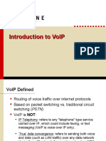 Intro to VoIP