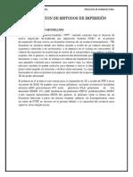 DESCRIPCION DE METODOS DE IMPRESIÓN
